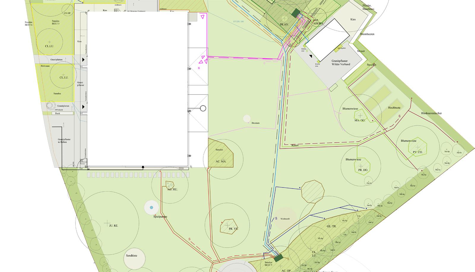 Bewässerungsanlage Planen automatische bewässerungssysteme für aussenanlagen