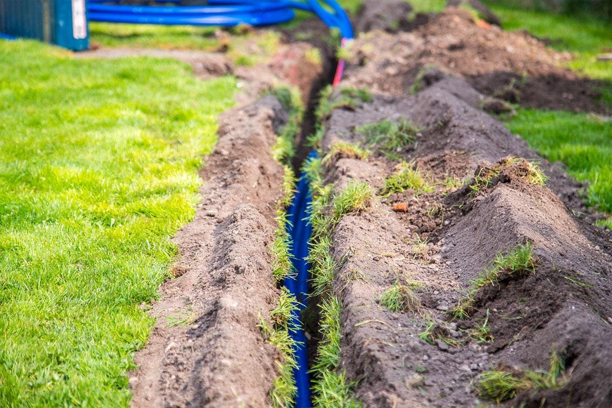 Rasen Bewässerungssystem ruheoase im alter