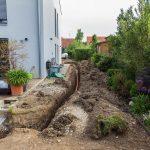 Verlegung Wasserleitung
